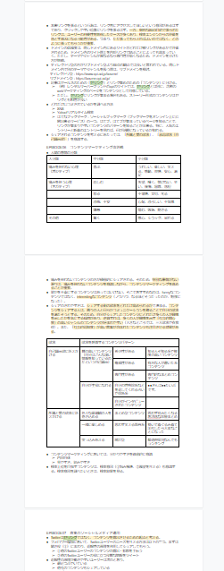 本を読む際のGoogleドキュメントによるまとめノート作成例